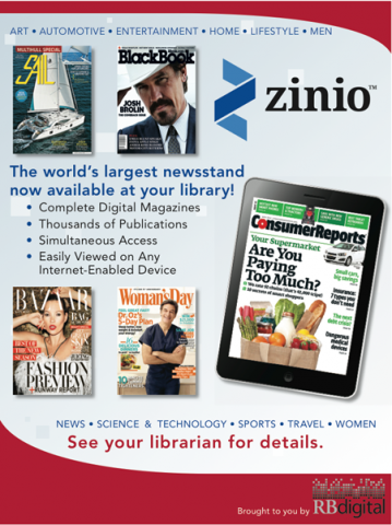 zinio flyer